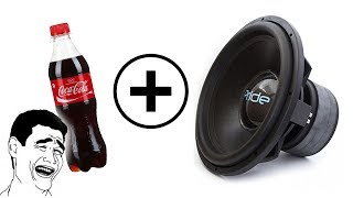 Что будет если к Кока Коле применить Сабвуфер