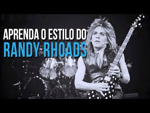 COMO TOCAR GUITARRA NO ESTILO RANDY RHOADS
