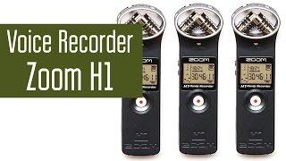 Zoom H1 - самый популярный в интернет диктофон. Digital Voice Recorder обзор номер 5.
