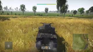 PS4 War Thunder test drive, Patton March