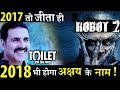 After 2017 Big Bang, Akshay is all set to Rock 2018 with Robot 2.0