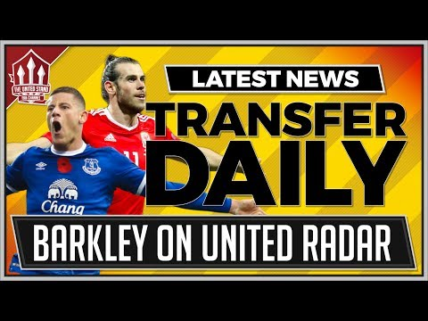 BALE, BARKLEY, SANCHES | MANCHESTER UNITED Transfer News