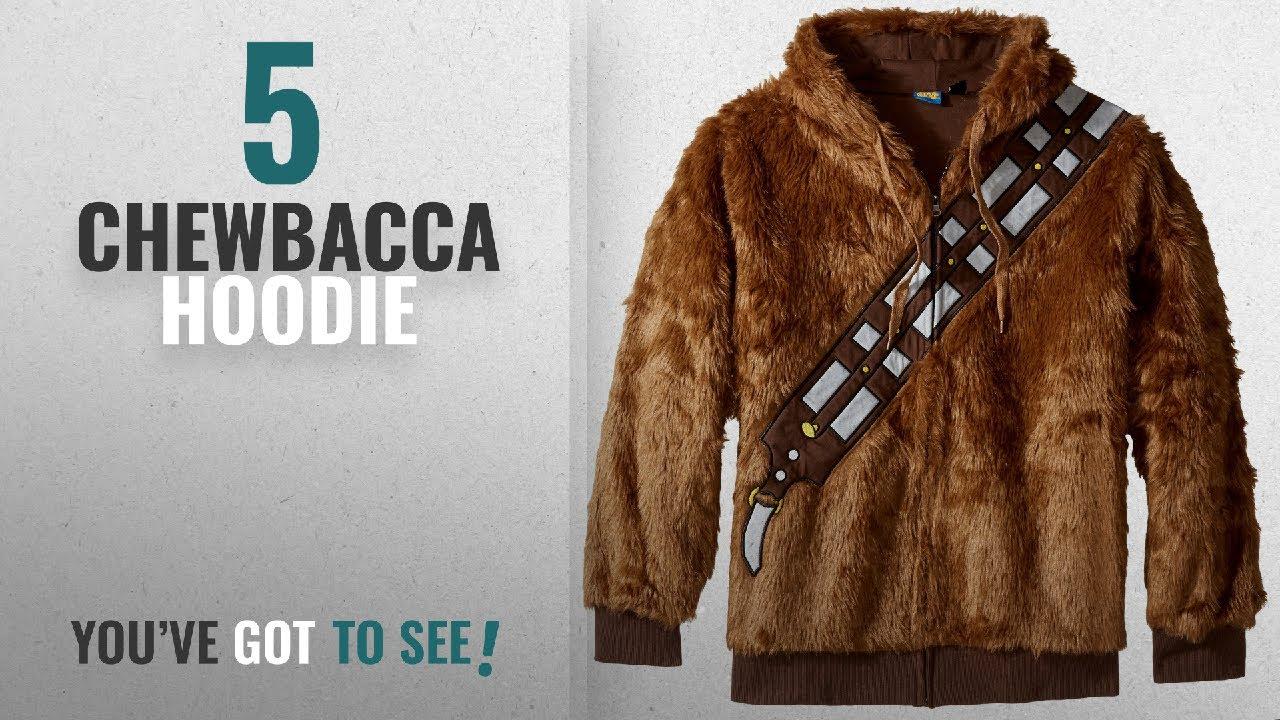 Top 10 Chewbacca Hoodie 2018 Star Wars Men S I Am Chewie Hooded
