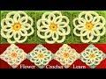 Como tejer a Crochet punto de flores filigrana tejido fácil How to Crochet