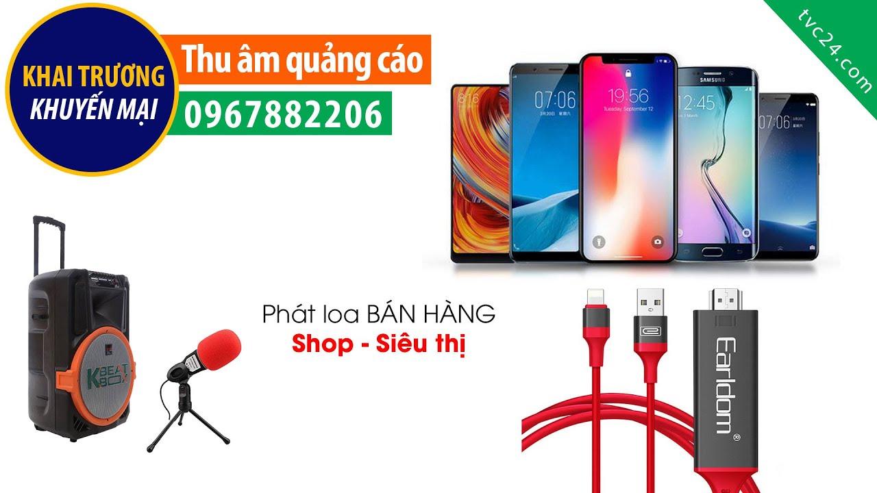 Thu âm quảng cáo Phụ kiện điện thoại Earldom Việt Nam