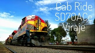 KCSM Morelia Cab Ride Viraje SD70ACe EMD Power