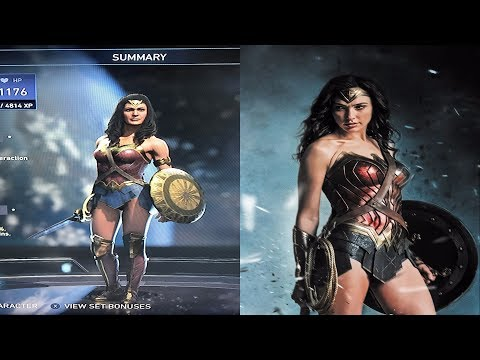 INJUSTICE 2 - HOW TO GET GAL GADOT WONDER WOMAN MOVIE GEAR!!!