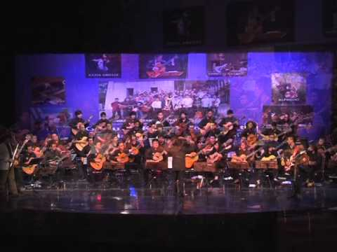 Canon Rock by Johann Pachabel  -  Benny M. Tanto Guitar Orchestra