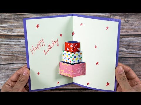 how-to-make-happy-birthday-card-|-happy-birtday-greeting-card