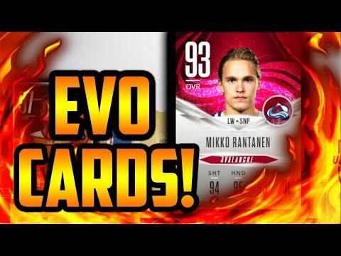 NHL 18 HUT - NEW EVO CARDS! GOOD OR BAD?