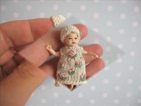 Tiny Clothes For Miniature Heidi Ott Baby Dolls By Yuliya