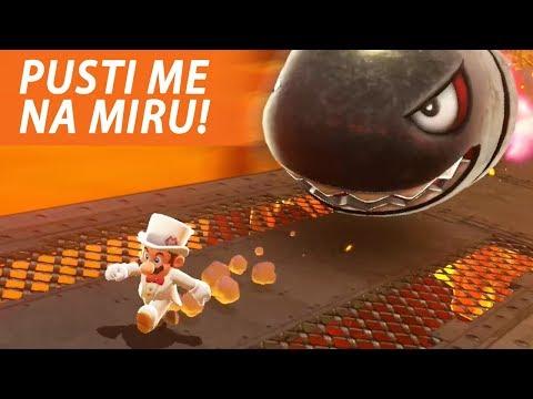 GANJA ME OGROMNI METAK - Super Mario Odyssey (EP13)