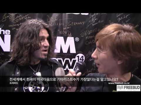 NAMM 2014 PhilX interview by Se-Hwang James Kim