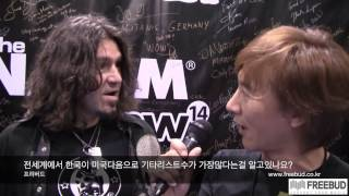 NAMM 2014 PhilX interview by Se-Hwang James Kim