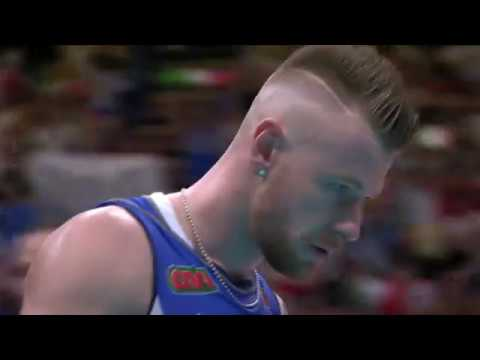 Ivan Zaytsev spike in Italy vs Finland