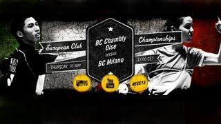 Event: European Club Championships 2013 (ECC 2013) - Group Stage Da...