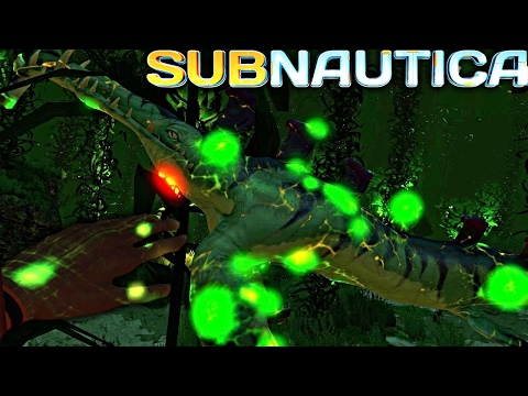 Subnautica - THE CARAR VIRUS TAKES FORM AND INFECTS EVERYTHING, NEW INFECTION EFFECTS ( Gameplay )
