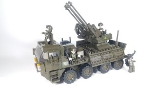 Sluban Army M38-B0302 - Heavy Equipment Transporter