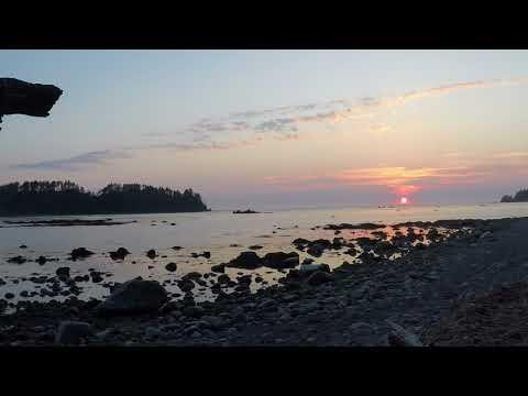 Olympic coast sunset