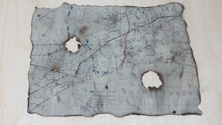 Как состарить бумагу или как сделать старую карту