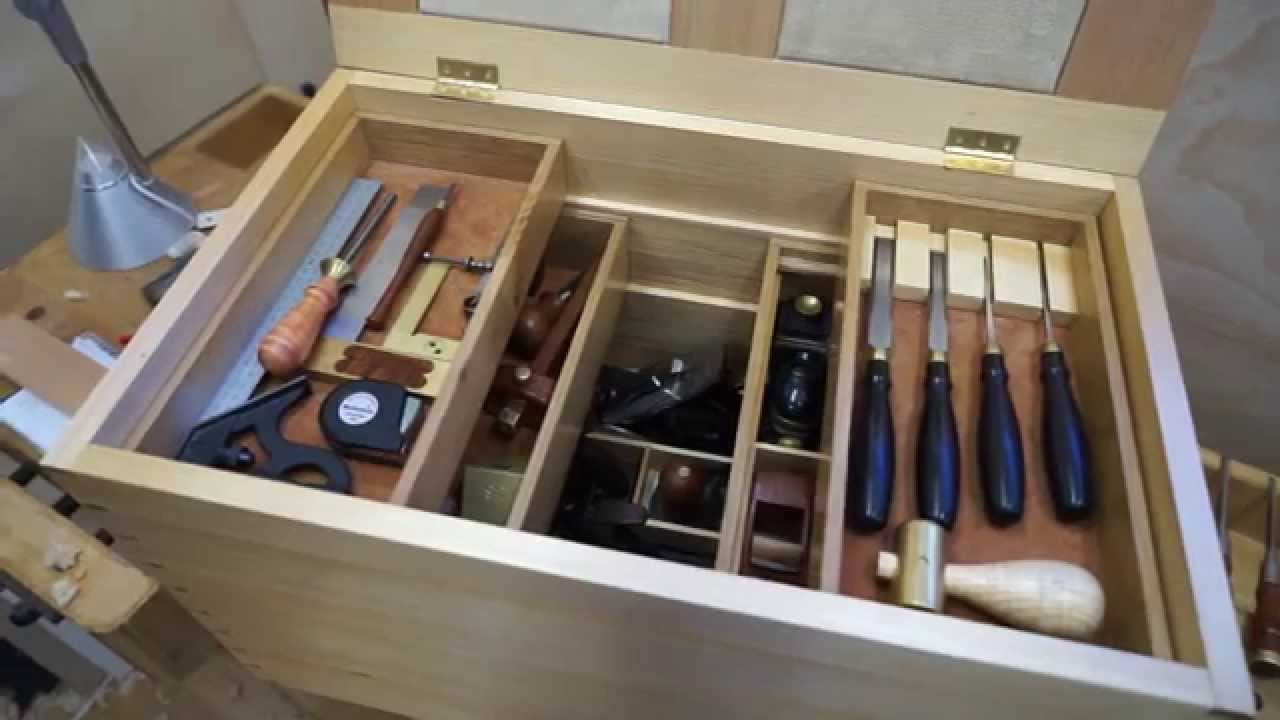 Building a kauri tool chest youtube for Tools to build a house
