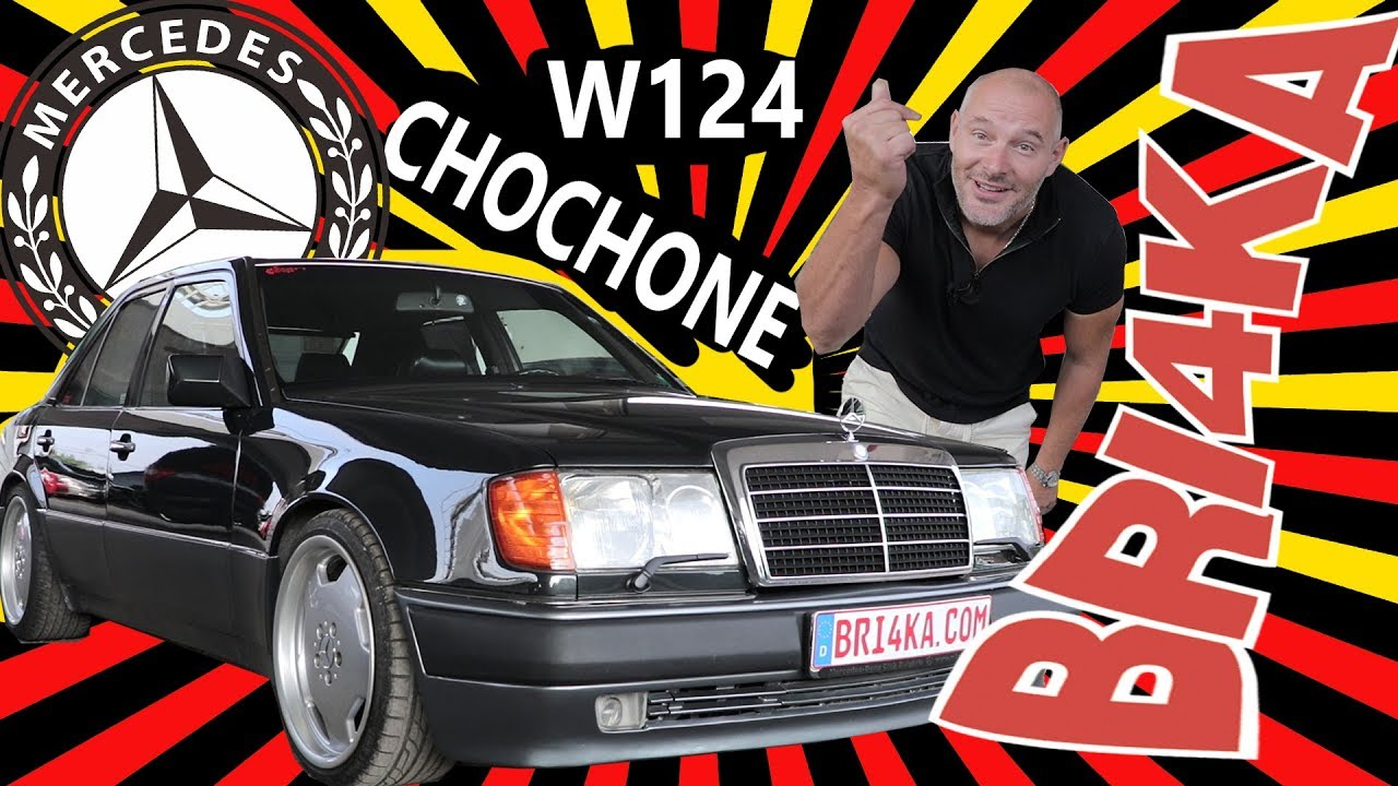 Mercedes Benz 500E (W124) Chochone |Test and Review| Bri4ka.com