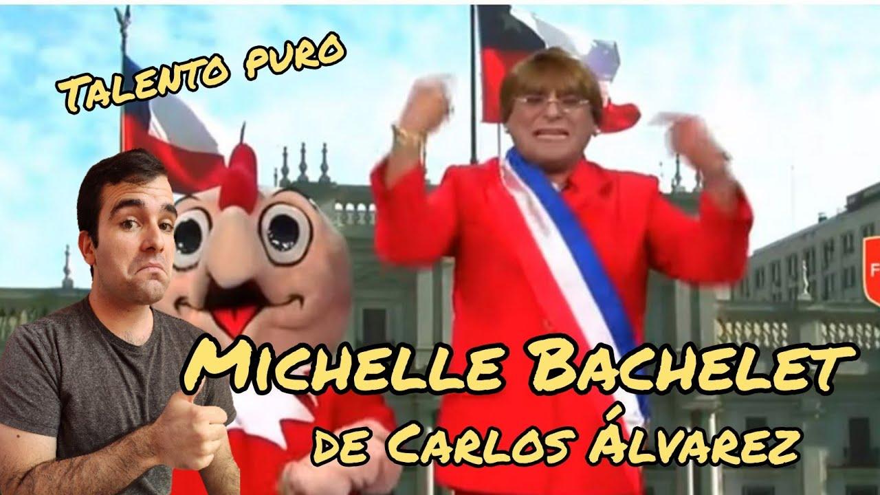 Chileno reacciona a Carlos Alvarez como Michelle Bachelet