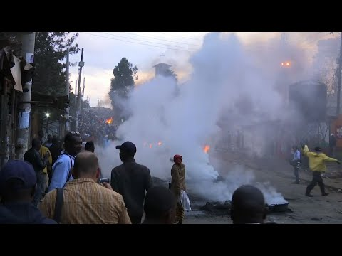 At Least 3 Killed in Kenya Post-Election Violence