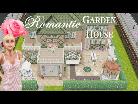 Sims Freeplay | 🌺🏡Romantic Garden House🌻👒 3 Beds 3 Baths | No Glitching | + Floor Plan | Hesper Ray