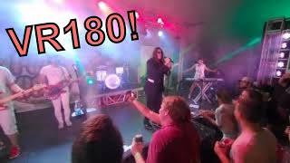 VR180 Qoocam 3D VR #OZZY Crazy Train! Pop Rocks Amery Fall Fest! 2160k 4K