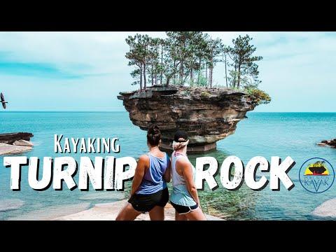 KAYAKING to TURNIP ROCK with PORT AUSTIN KAYAK | Michigan's MOST POPULAR Place to Kayak