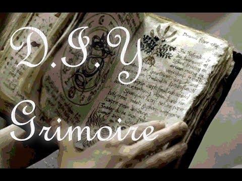 DIY Grimoire/BOS/Spell Book