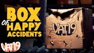 The Box of Happy Accidents is a still-good collection of surprise awesomeness. Buy here: https://www.vat19.com/item/box-of-happy-accidents?adid=youtube ...