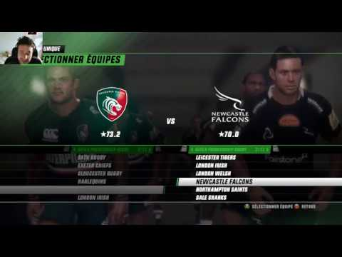 LEICESTER TIGERS - NEWCASTLE FALCONS : Rugby Challenge 3