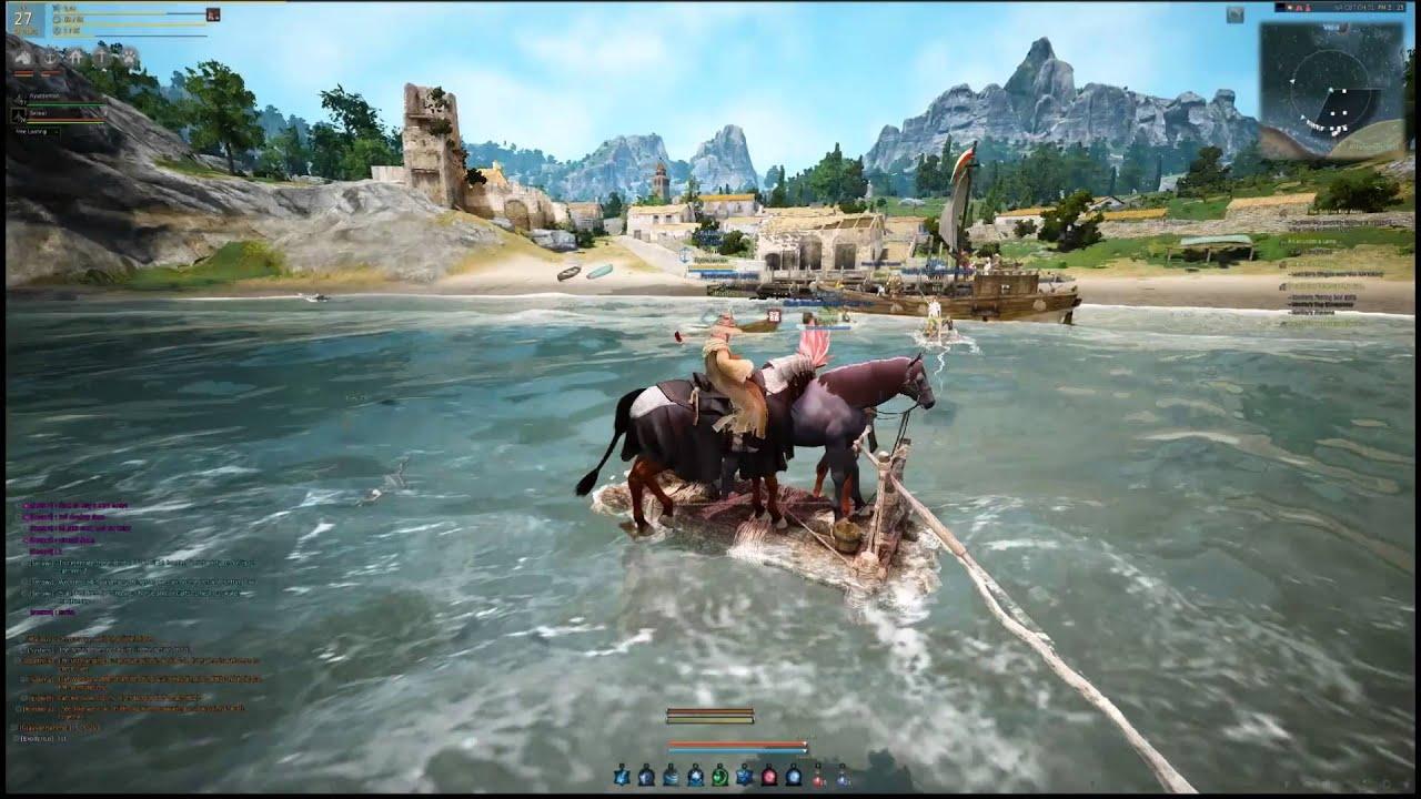 Black desert raft vs fishing boat