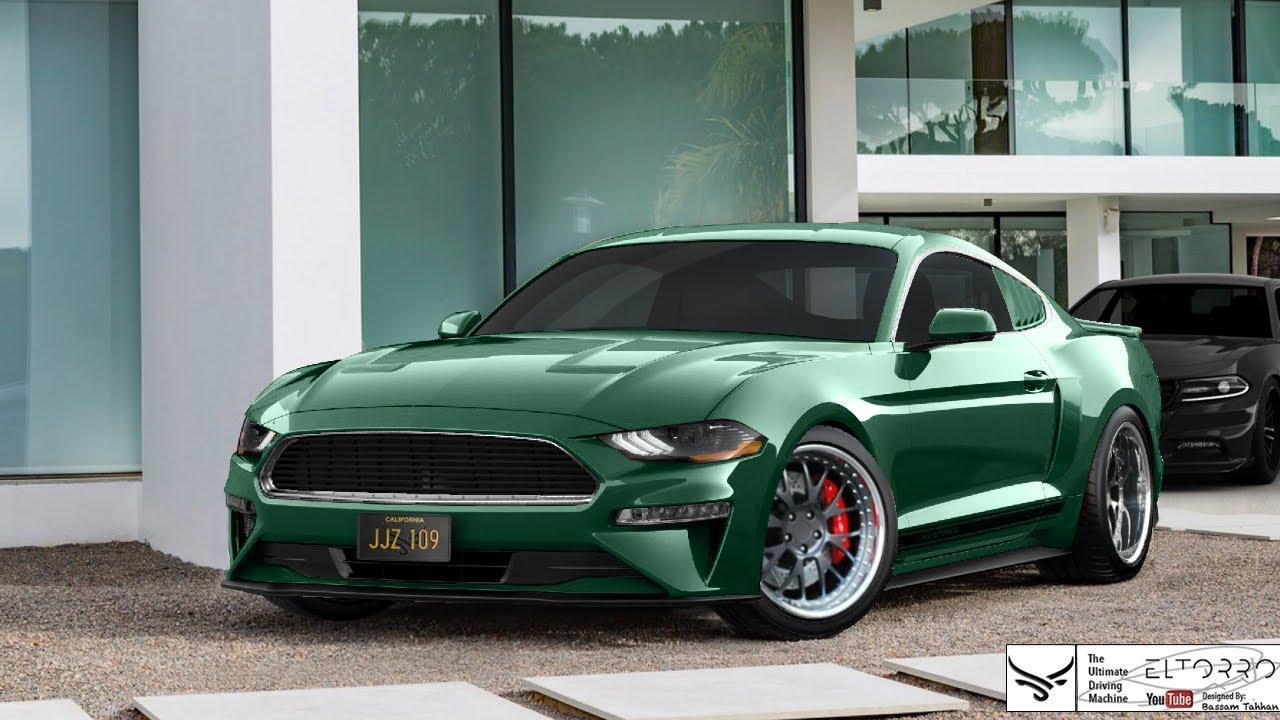 bullitt mustang 2018 ford mustang gt virtual tuning. Black Bedroom Furniture Sets. Home Design Ideas