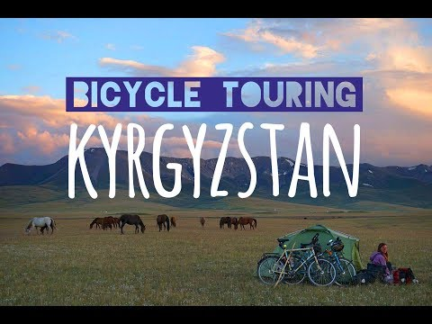 Cycling Doku: A Day on our Worldbicycletour in Kyrgyzstan