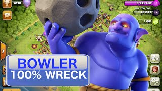100% Bowler / Healer TH11 War Attack *Clash of Clans*