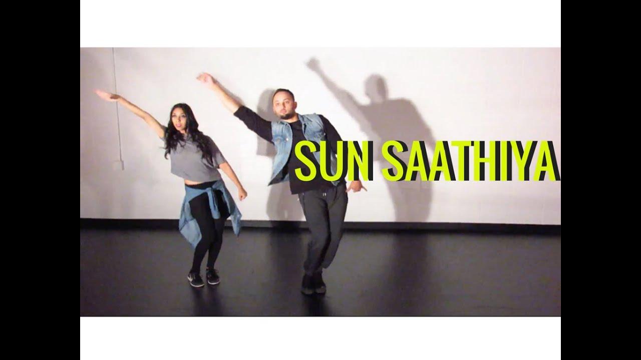 Sun Saathiya Dance Choreography By Shereen Ladha Abcd 2