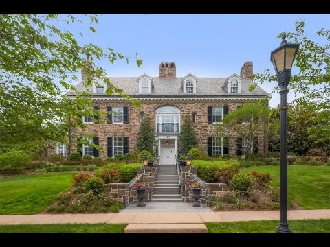 Magnificent Stone Georgian Colonial in Baltimore, Maryland