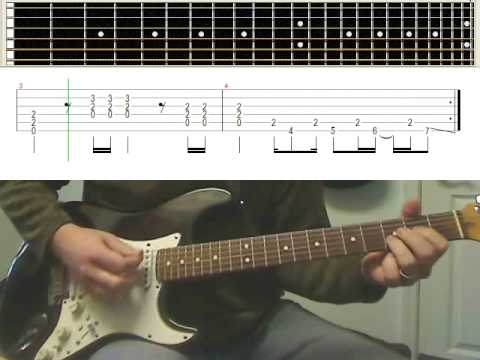 "Guitar guitar tabs back in black : Back In Black"" Guitar Lesson with Tab - AC/DC Angus Young (www ..."
