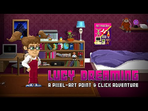 Lucy Dreaming Point and Click Adventure Game Trailer