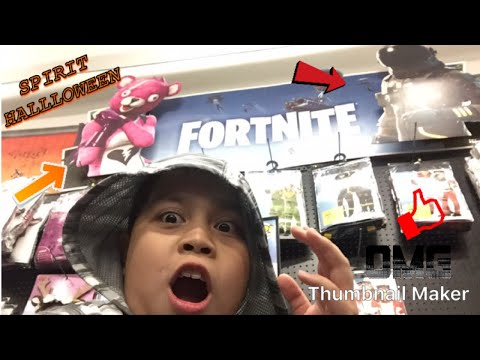 Going To Spirit Halloween & Target| I Found FORTNITE Costumes!!!!