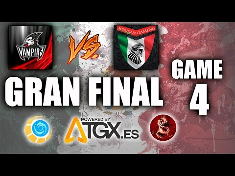 TORNEO DE MEXICO EN TGX - VAMPIR3 VS MEXICAN GAMING - FINAL GAME 4 ✪ Mobile Legends: Bang Bang