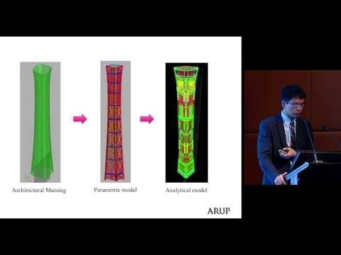 "CTBUH 2014 Shanghai Conference - Peng Liu, ""Would Software Replace Engineers?: A Study of China Zun"""