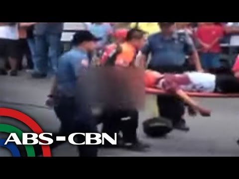 TV Patrol: 'Nanagasa' ng enforcer, hinahabol ng pulis, sapul sa CCTV