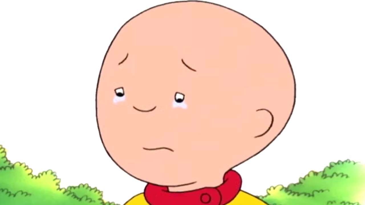 Caillou Feels Lonely Caillou Cartoon Youtube