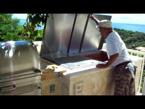 BARBACOASLUNACOM Outdoor Kitchens III  LECHONERA 787455