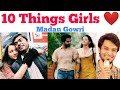 10 Things Girls love about Boys | Tamil | Madan Gowri | MG