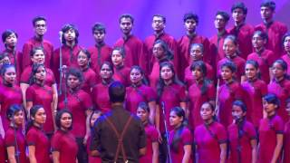 Christ University Choir performs TOTO`S Africa at Sound Curr...